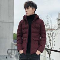 男士棉衣2019新款羽绒棉服冬季加厚外套韩版潮流男装帅气短款棉袄