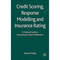 【预订】Credit Scoring, Response Modelling and Insurance