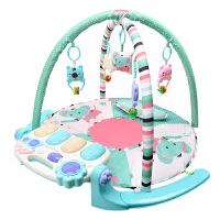 婴儿健身架器琴毯0-1岁女孩音乐玩具新生儿男孩脚踏钢琴