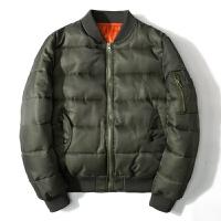 潮牌棒球服男士外套冬季飞行员夹克男女工装外套加厚棉衣冬潮