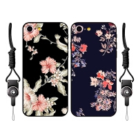 iPhone6手机壳女款6plus硅胶薄软壳6s清新硅胶7挂绳x