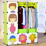 索尔诺组合式简易衣柜 DIY组装衣橱折叠收纳家居组合衣柜M4512