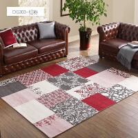 地毯客厅百搭款美式地毯茶几毯简约现代北欧地毯卧室地毯满铺家用