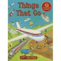 英文原版Things That Go Lift-the-Flap 交通工具翻翻书