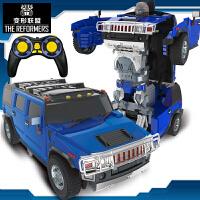 【遥控变形玩具援救悍马】机器人男孩模型儿童金刚5加大汽车