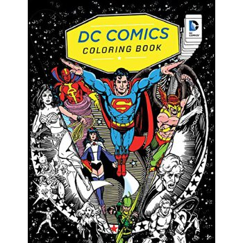 DC Comics Coloring BookDC 漫画着色书【英文原版】