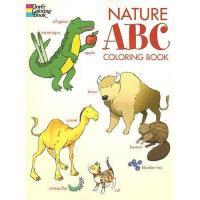 【预订】Nature ABC Coloring Book