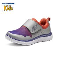 Skechers斯凯奇女童鞋 新款魔术贴轻便舒适休闲防滑运动鞋85218L