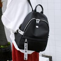 新款双肩包女韩版潮流女包休闲街头旅行时尚防泼水尼龙背包