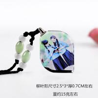 个性DIY照片定制水晶项链男女情侣项链吊坠生日礼物送女友礼品