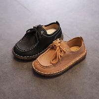 儿童春季新款男童鞋潮板鞋休闲鞋中大童女运动跑步鞋