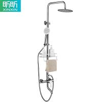 不锈钢增压淋浴花洒套装家用卫生间洗澡淋浴器