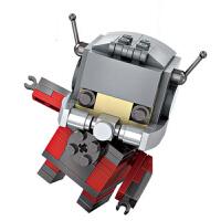 小颗粒积木 mini颗粒益智拼装玩具拼插积木钢铁美队14岁以上