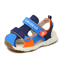 宝宝包头凉鞋男童夏季小女童软底儿童鞋机能凉鞋