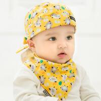 6-12个月宝宝帽子秋冬女0一1岁儿童帽子男童潮春秋韩版婴儿公主帽