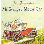 英文原版绘本 Mr.Gumpy's Motor Car 和甘伯伯去兜风 John Burningham 韵文 廖彩杏书