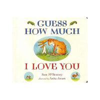[新�A正版 �x��o�n]Guess How Much I Love You [Board Book] 猜McBratney