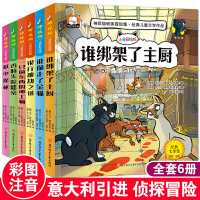 神探猫破案冒险集经典儿童文学作品共6册 注音彩绘版 小学生课外阅读书籍一二三年级必读6-8岁童话带拼音读物 一分钟巧破