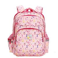 卡拉羊小学生书包女韩版校园潮1-3-4-6年级儿童双肩包男学生背包