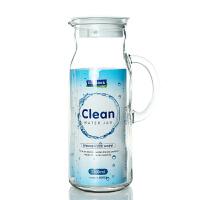 Glasslock 三光云彩玻璃水壶加厚凉水壶1200ml大容量冷水壶果汁壶带把玻璃壶