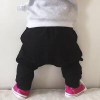 童装男童宝宝哈伦裤儿童婴儿裤子可开裆