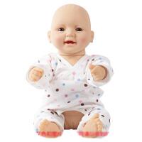 仿真婴儿洋娃娃月嫂培训教 新生儿搪胶软胶塑料仿真娃娃婴儿模特家政月嫂护理培训假娃娃模型 41-60厘米家政娃娃