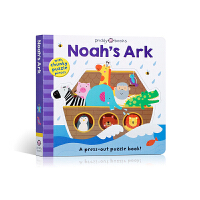 【全店300减100】Puzzle and Play: Noah's Ar 英文原版进口 诺亚方舟 英文书绘本故事书图书