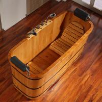 双人洗澡桶实木情侣浴缸家用浴盆木质洗浴木桶浴桶大号泡澡桶