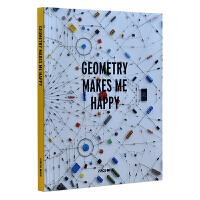 GEOMETRY MAKES ME HAPPY 几何幸福 几何使我快乐 平面图形 产品设计 几何运用设计书籍
