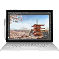 微软 Surface Book 13.5英寸二合一平板笔记本 Intel i7 16G内存 512G存储 GTX965 2G独显 增强版 Win10银色官方标配