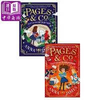 【中商原版】Pages & Co.穿梭童话故事集2册 英文原版 童话历险 奇幻儿童文学 9-12岁