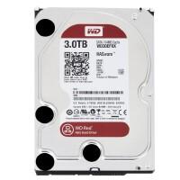 WD/西部数据 红盘 3TB SATA3 64M 3.5英寸台式机硬盘 NAS企业硬盘 WD30EFRX