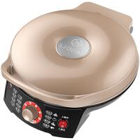 利仁(Liven)LR-X2901A 电饼铛 香槟金色 家用双面加热煎烤机 加深烤盘煎饼机