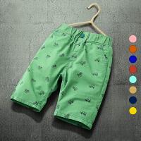 男童短裤薄款新款儿童五分裤夏装裤子中大童沙滩裤中裤潮