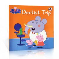 粉红猪小妹:牙医之旅英文原版童书 Peppa Pig: Dentist Trip 小猪佩奇 看牙医 学龄前3-5-6-