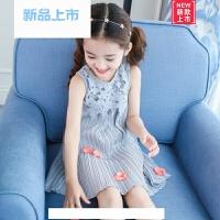 女童夏装雪纺连衣裙2018新款韩版5儿童8夏季裙子女孩10公主裙12岁