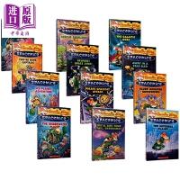 【中商原版】老鼠记者 太空老鼠1-12 640L Geronimo Stilton Spacemice 12册 儿童初级