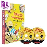 【中商原版】大卫香农的珍藏故事集 David Shannon's Deluxe Collection 儿童经典文学 桥