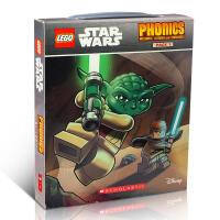 英文原版 LEGO Star Wars Phonics 乐高星球大战 12册 自然拼读盒装 男孩爱阅读绘本 学语音 家