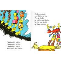 苏斯博士纸板书 10册英文原版绘本 Dr Seuss ABC/Fox In Socks/Foot Book 廖彩杏推荐 儿童英文启蒙学习