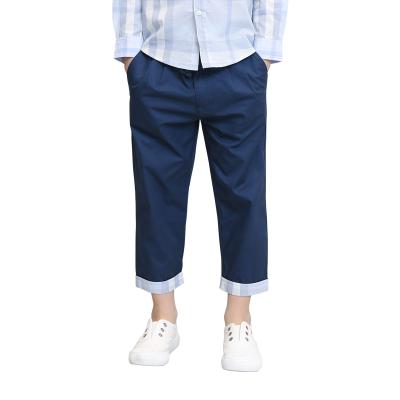 【网易严选 顺丰配送】休闲九分裤(男童) 开春搭配 110-165cm