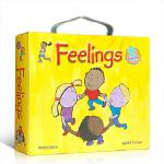 顺丰发货 英文原版 点读版 The Feelings12册 儿童启蒙情绪管理绘本 亲子阅读 幼儿早教教育 3-7岁 心