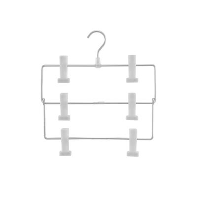 【网易严选 顺丰配送】三层铝制裤架 3层叠放设计,省空间更实用