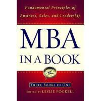 【预订】MBA in a Book: Fundamental Principles of Business