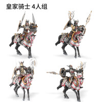 1/18古代兵人模型 3.75寸人偶角斗士骑士可动人偶模型品质定制新品