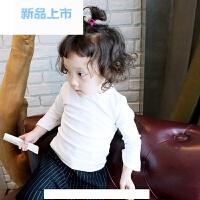 宝宝t恤长袖女童打底衫上衣春秋2017新款小童衣服儿童潮体恤韩版