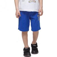 派克兰帝童装 儿童短裤男童时尚针织短裤