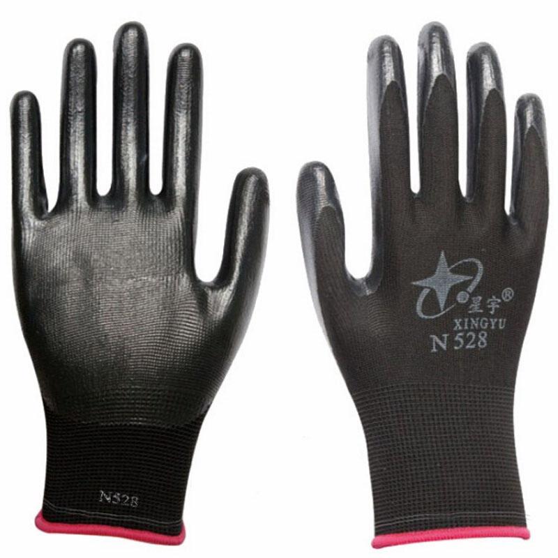 劳保手套N528工地建筑N518耐磨透气塑胶手套12双  M 发货周期:一般在付款后2-90天左右发货,具体发货时间请以与客服协商的时间为准
