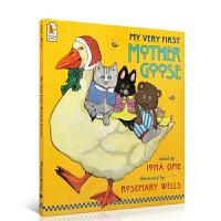 英文原版 My Very First Mother Goose 我的第一本鹅妈妈童谣 廖彩杏推荐书单赠音频