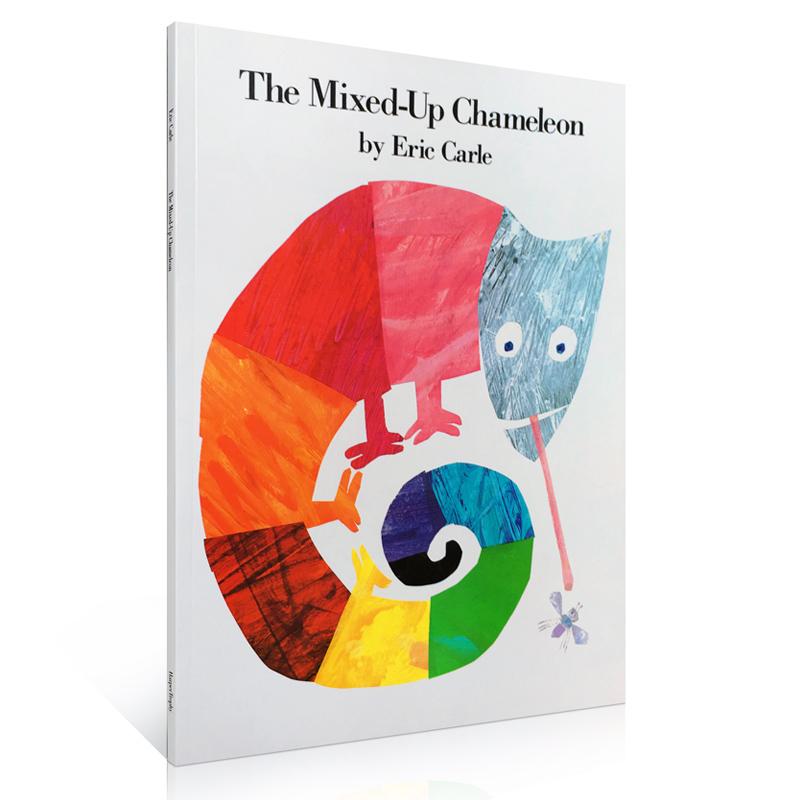 英文原版 廖彩杏有声书单The Mixed-Up Chameleon拼拼凑凑的变色龙